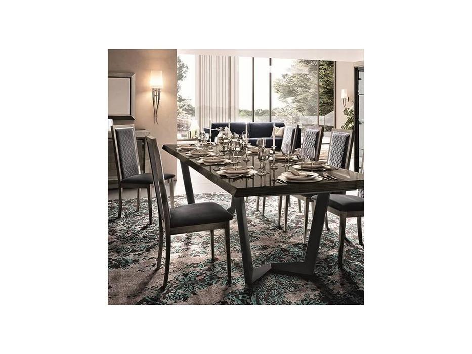 Camelgroup: Elite: стол обеденный  NET раскладной (серебристая береза)