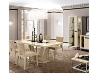 Camelgroup: Ambra: стол обеденный раскладной 140см. (янтарная береза)