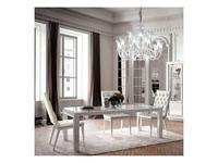 Camelgroup: Dama: стол обеденный раскладной 140см. (белый)