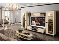 Camelgroup: Ambra: стенка в гостиную (янтарная береза)
