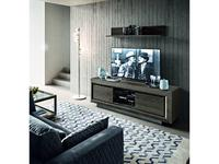 Camelgroup: Elite: тумба под телевизор  (серебристая береза)