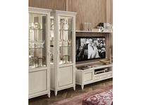 Camelgroup: Giotto: витрина 1 дверная  правая (белый антик)