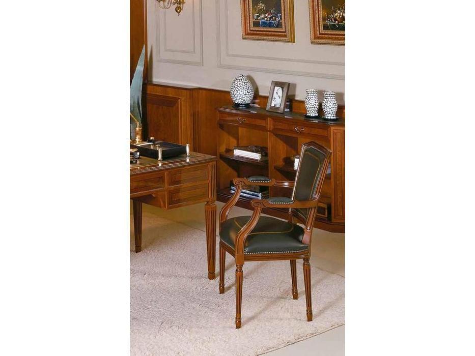 Arte Mobilia: Inter: кресло  (шпон ясеня, кожа)