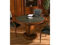 Arte Mobilia: Inter: стол переговорный  (шпон ясеня, кожа)