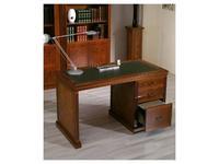 Arte Mobilia: Inter: стол письменный  (шпон ясеня, кожа)
