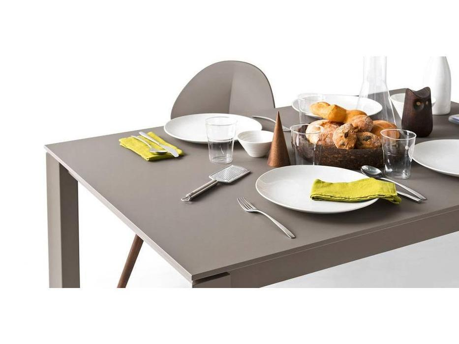 Calligaris: Duca: стол обеденный  раскладной (белый)