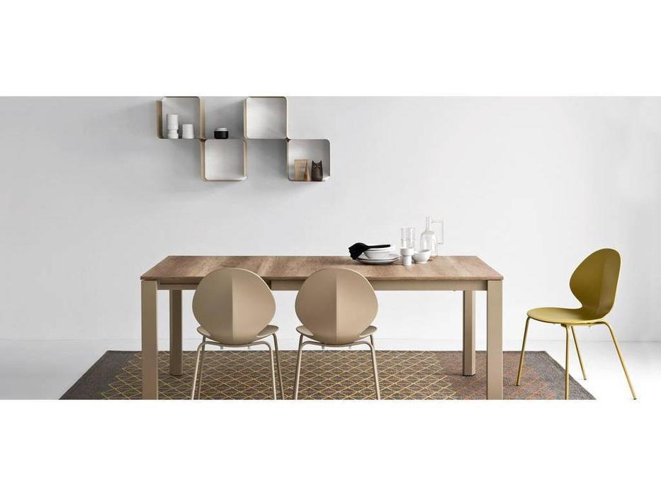 Calligaris: Duca: стол обеденный  раскладной (беж)