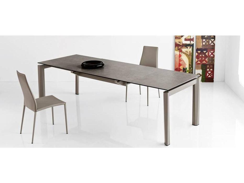 Calligaris: Esteso: стол обеденный  раскладной (бежевый)
