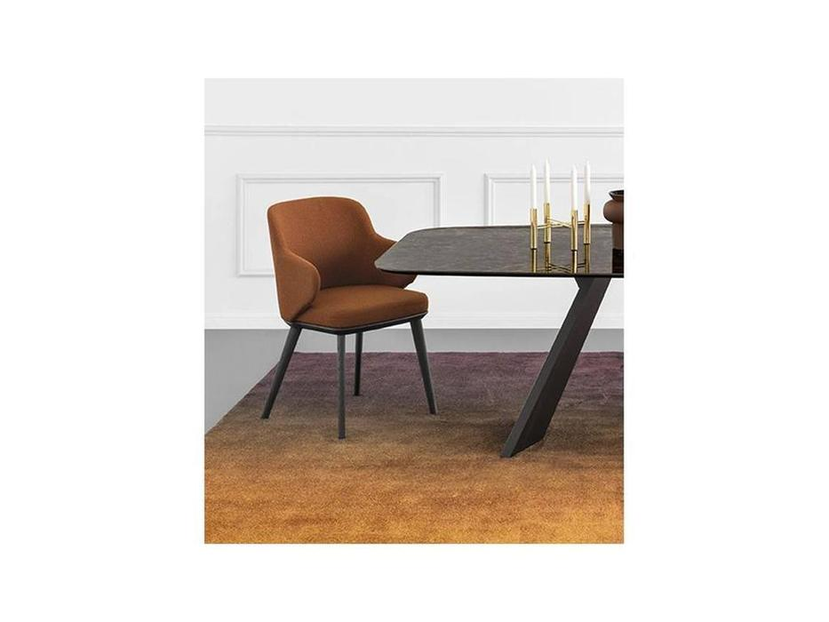 Calligaris: Foyer: стул  (дуб, ткань)