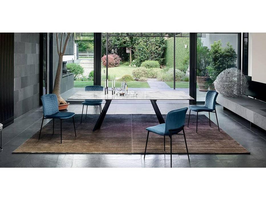 Calligaris: Love: стул  (черный, синий)