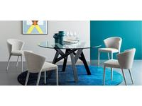 Calligaris: Jungle: стол обеденный  (черный, стекло)