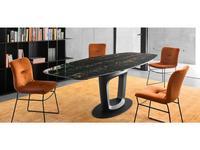 Calligaris: Orbital: стол обеденный  (черный)