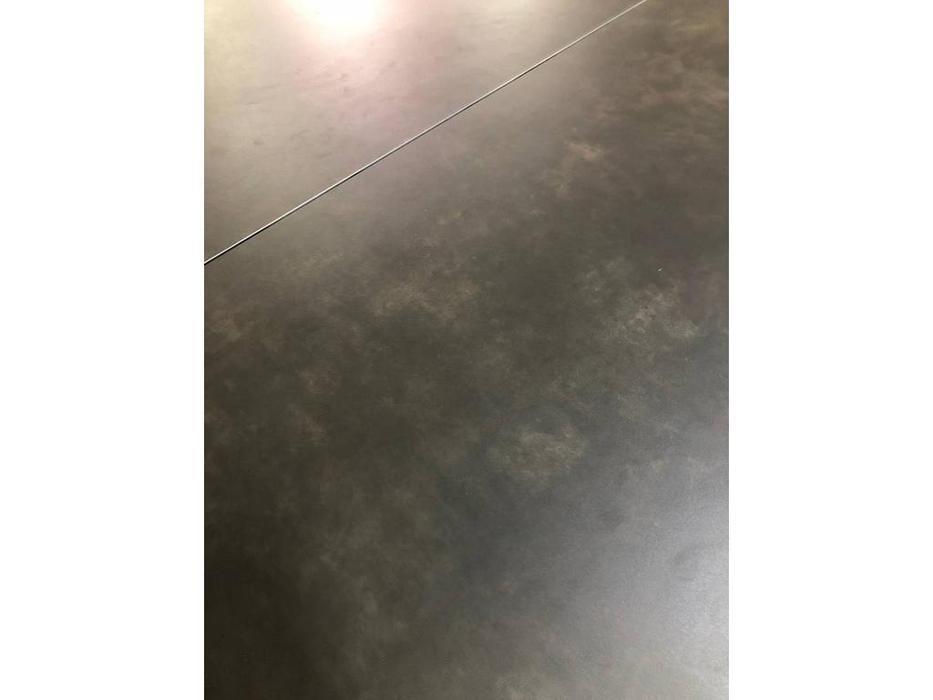 Megapolis: Illinois: стол обеденный раскладной (черный, серый)