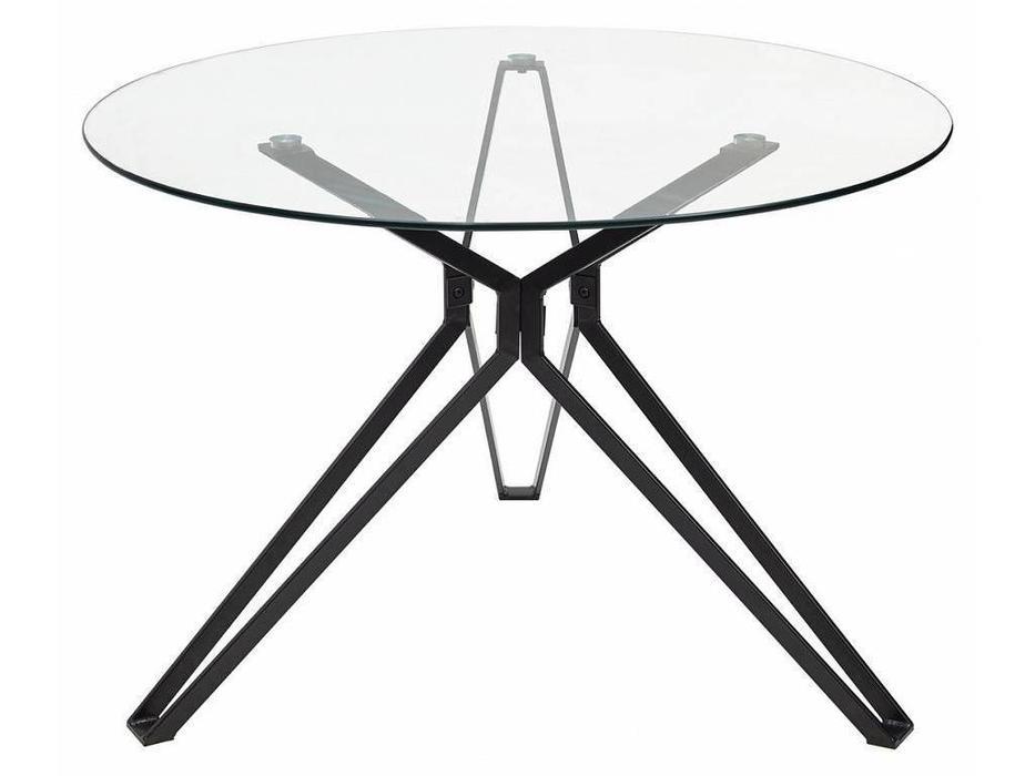 Megapolis: Veneto: стол обеденный (прозрачное стекло)