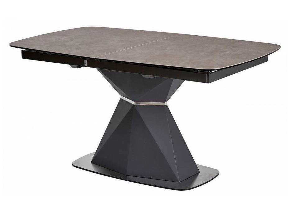 Megapolis: Severin: стол обеденный раскладной (серый, вулканический пепел)