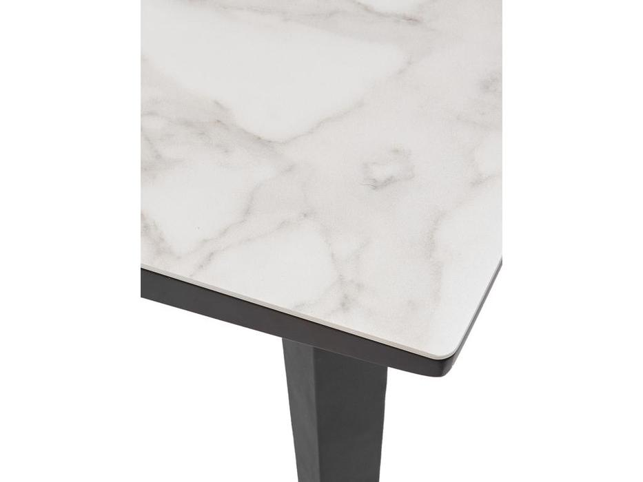 Megapolis: Dayton: стол обеденный  раскладной (белый, черный)