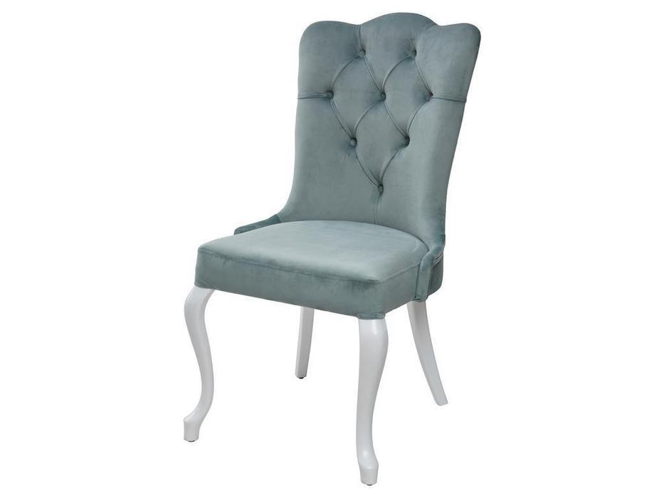 Megapolis: Sultan: стул  (мятный, белый)