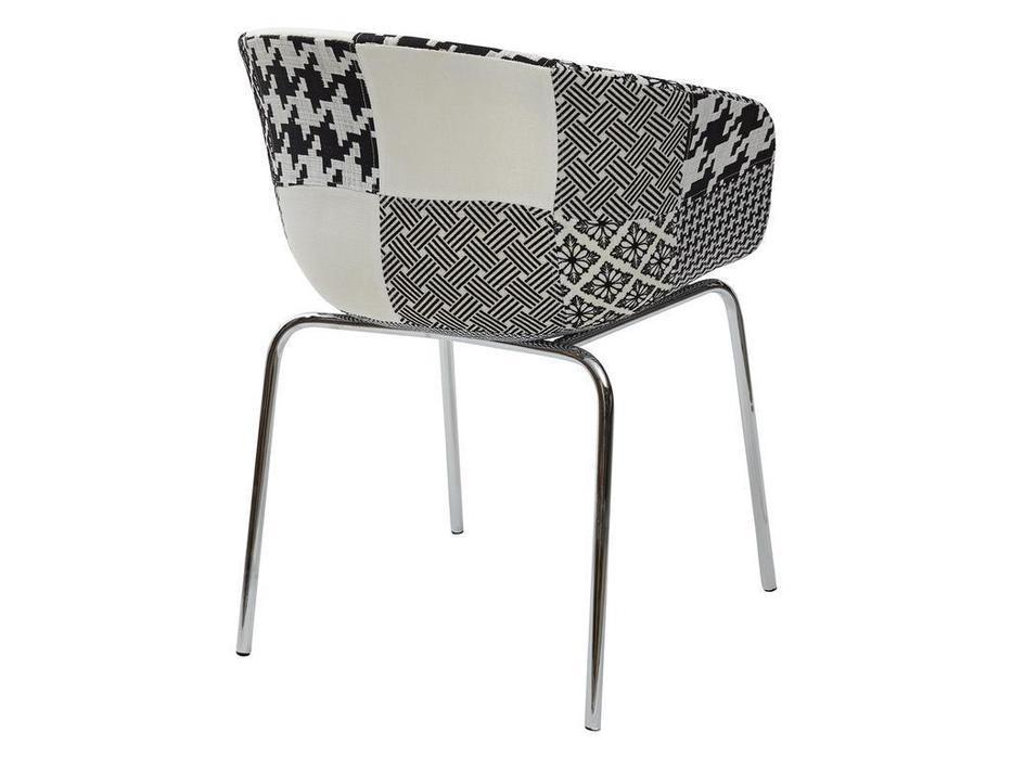 Megapolis: Art: стул  (белый, черный)
