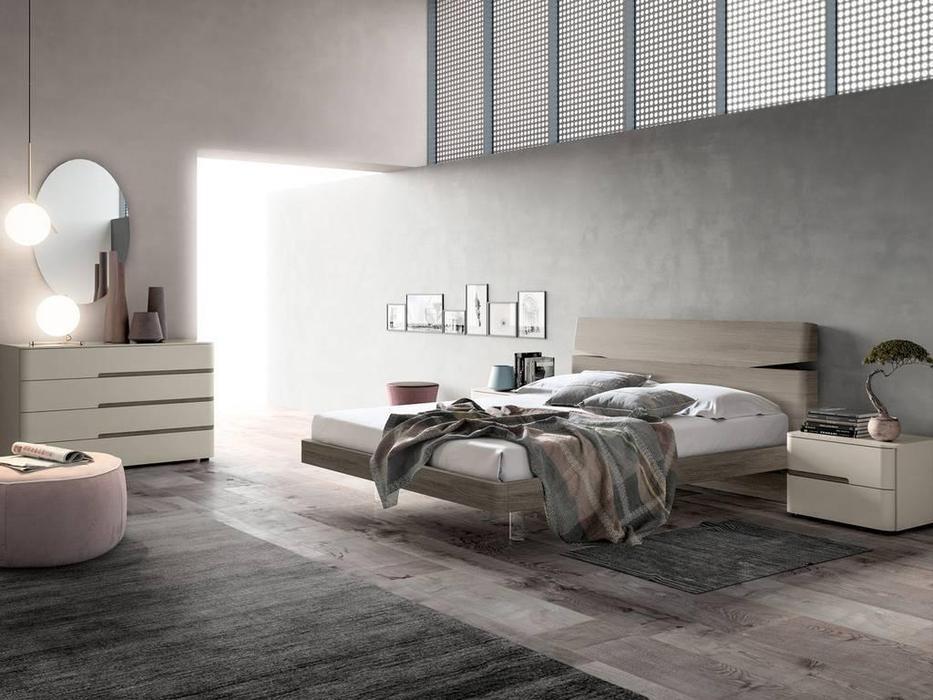 Santa Lucia: Projecta: кровать Grecale 160х195  (серый)