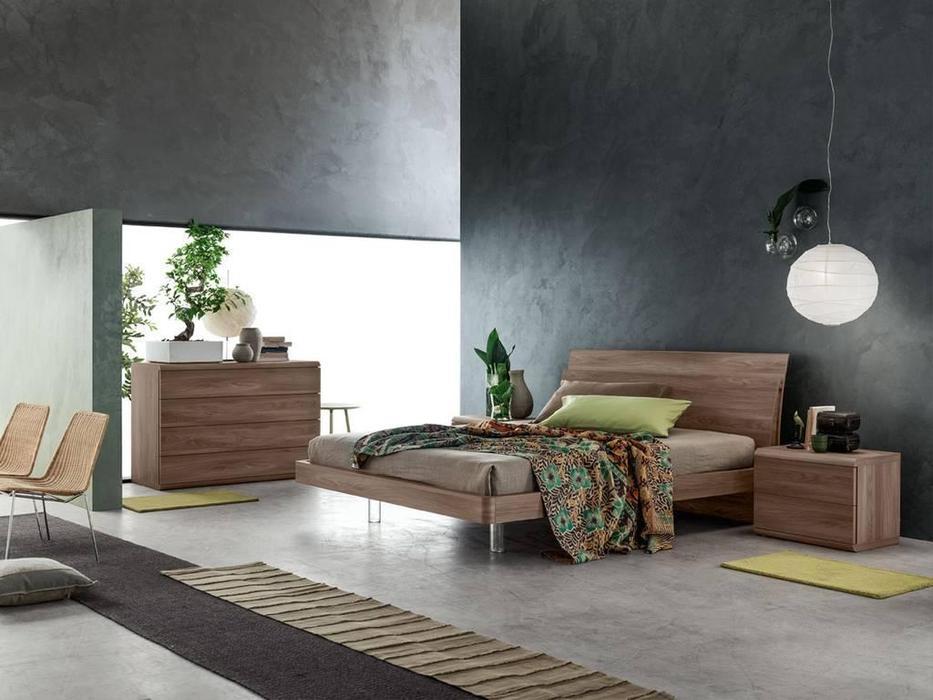 Santa Lucia: Projecta: кровать Lotus 180х200  (коричневый)