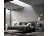 Santa Lucia: Projecta: кровать 160х195 Scirocco  (коричневый)