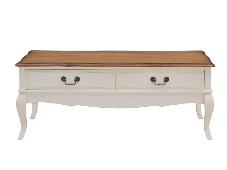 HFI: Florence: стол журнальный  (молочный, орех)