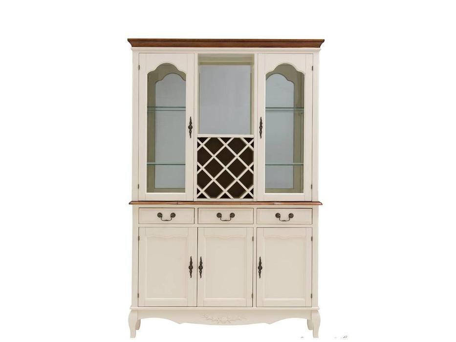 HFI: Florence: шкаф винный  (молочный, орех)