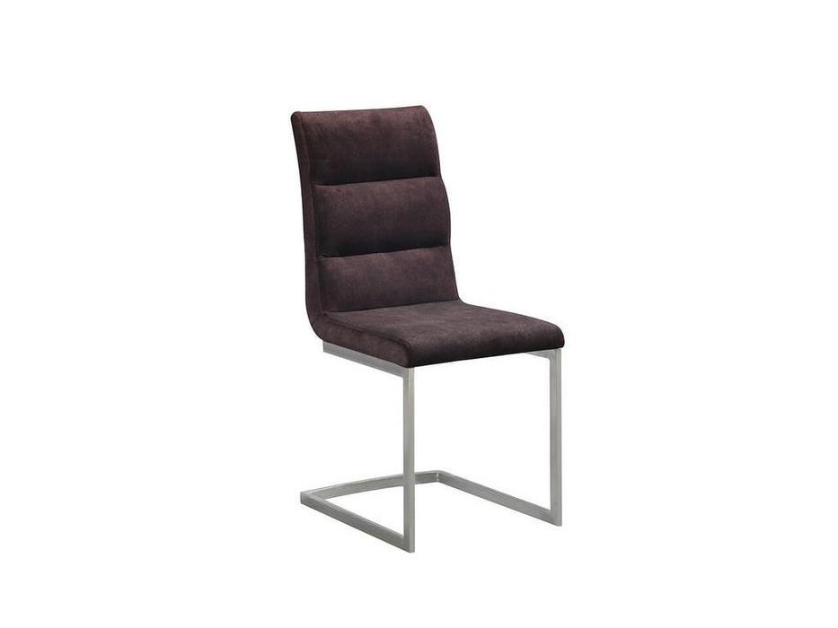 HFI: MK: стул  (коричневый, хром)