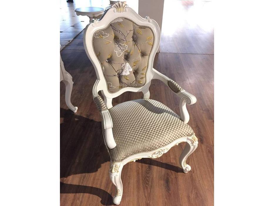 HFI: Shantal: кресло  (белый, золото)