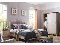 HFI: Florence: кровать 160х200  (молочный, ткань)