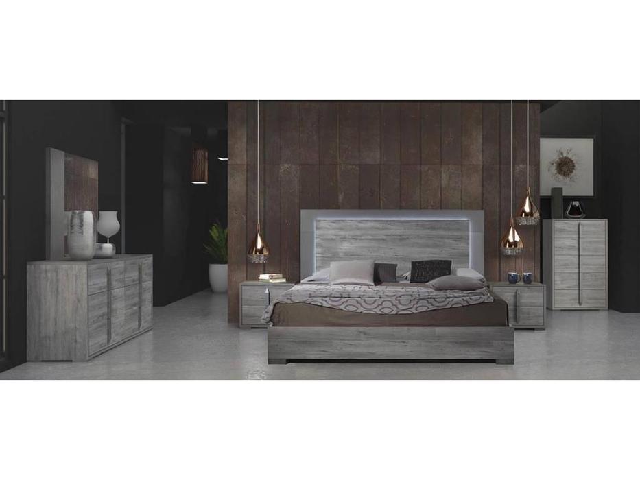 TuttoMobili: Evelyn: спальная комната (серый)