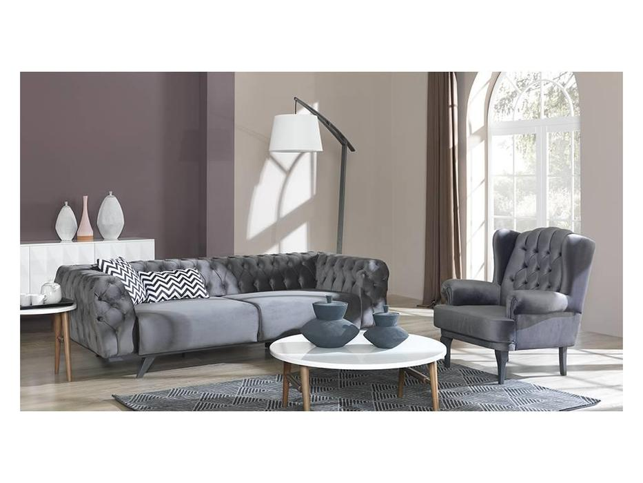 Rendi: Minda: кресло  (серый)