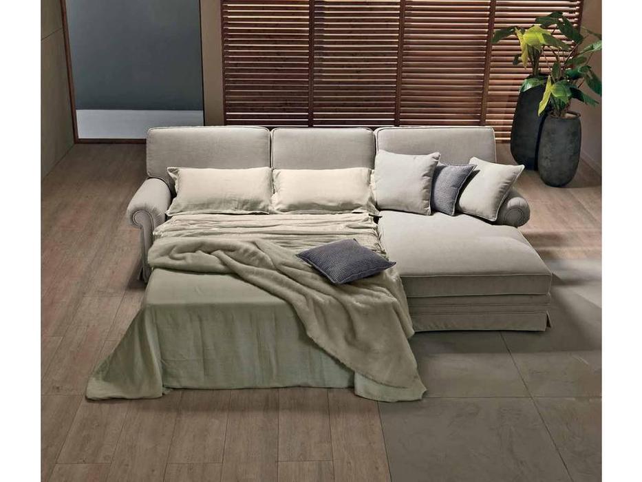 Cis Salotti: Maxim: диван угловой раскладной (светло бежевый)