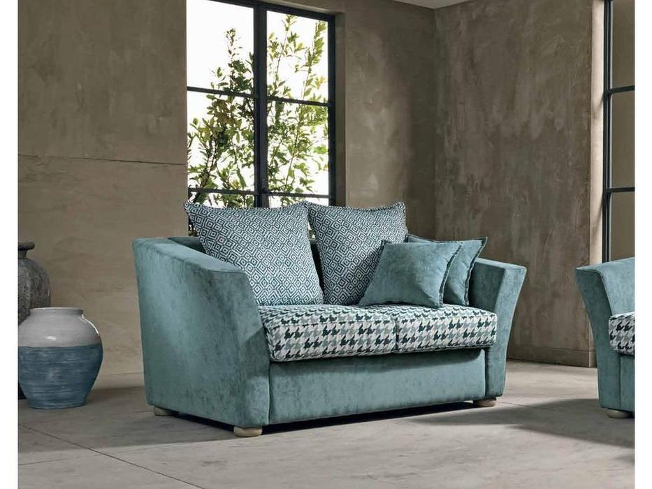 Cis Salotti: Alex: диван 2 местный (голубой)