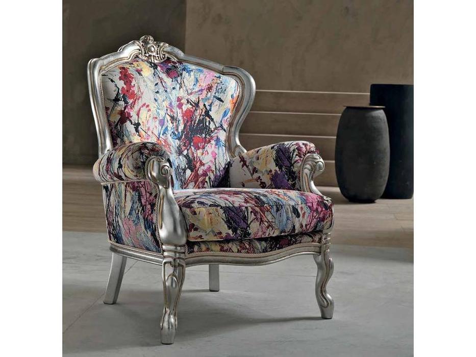 Cis Salotti: Dafne: кресло (серебрение)