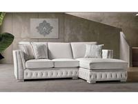 Cis Salotti: Teseo: диван угловой (светло бежевый)