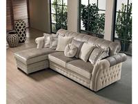 Cis Salotti: Florence: диван угловой раскладной (бежевый)