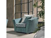 Cis Salotti: Alex: кресло (голубой)