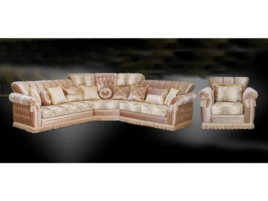 Ustie: Валенсия: комплект мягкой мебели (ткань)
