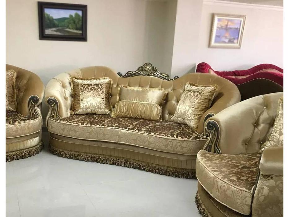 Ustie: Султан: диван 3 местный (ткань)