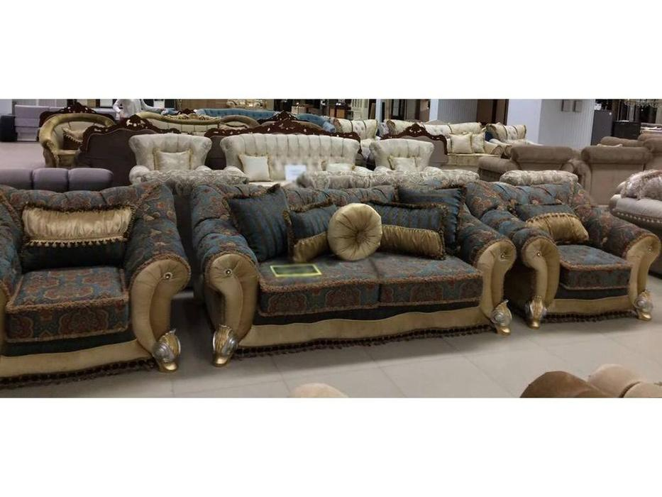 Ustie: Лючия: комплект мягкой мебели (ткань)