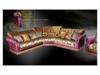 Ustie: Валенсия: диван угловой раскладной (ткань)