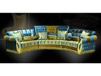 Ustie: Валенсия: диван эркерный (ткань)