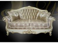 Ustie: Венеция: диван 3 местный раскладной Венеция 1 (крем)