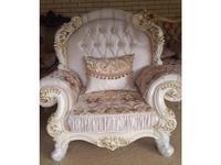 Ustie: Венеция: кресло Венеция 12 (крем)