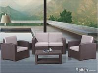 Rattan: Premium: лаунж зона  Premium 4 (венге)