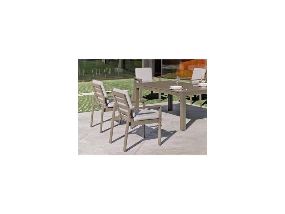 Hevea: Camelia: стул с подлокотниками  (шампань)