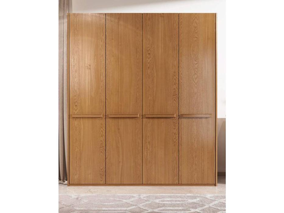 ММ: Модена: шкаф 4 дверный (орех)