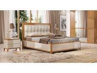 ММ: Модена: кровать двуспальная  180х200 (орех)