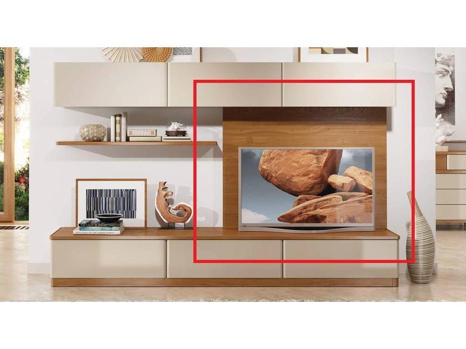 ММ: Модена: панель  настенная для ТВ (орех)